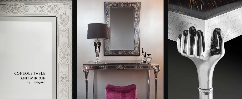 Showroom - Furniture - Consoles - The Emperor Grip - B. David Levine