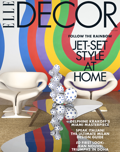 Press - Elle Decor - B. David Levine