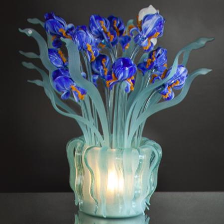 Showroom - Lighting - Table Lamps - Iris Van Gogh Vase