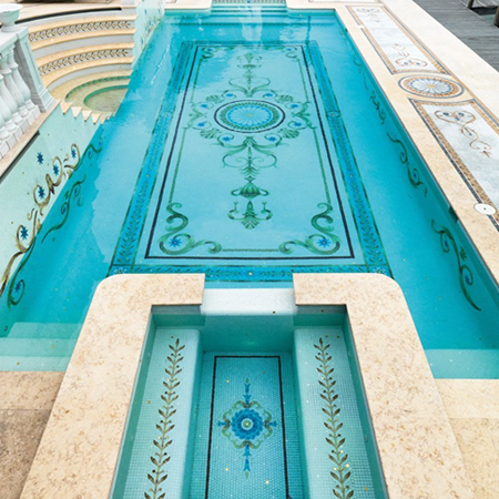 Showroom - Doors & Architectural Elements - Mosaics - Pool Mosaics