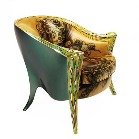 Showroom - Furniture - Armchairs - Opus Futura Tattoo