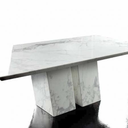 Showroom - Furniture - Dining Tables - Ermes Bianco