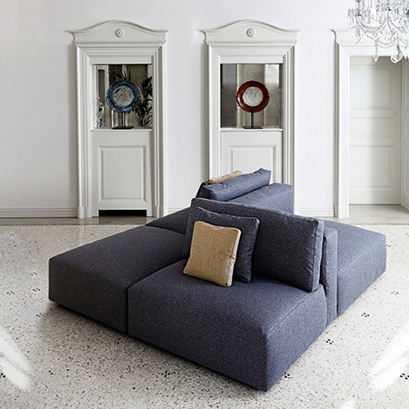 Showroom - Furniture - Poufs and Ottomans - Le Nuvole