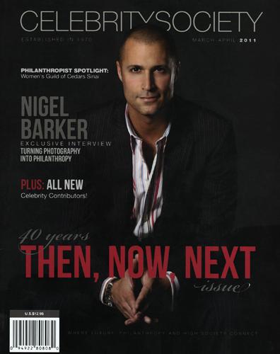 Press - Celebrity Society Magazine - B. David Levine