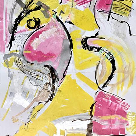 Showroom - Art - Julie Markfield Art - It Followed me Home Can We Keep It?