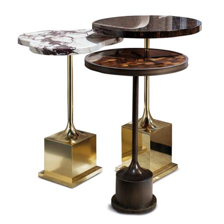 Showroom - Furniture - Side Tables - Tris Side Tables Set