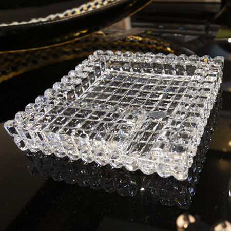 Showroom - Accessories - Ashtrays - Crystal Ashtray Clear