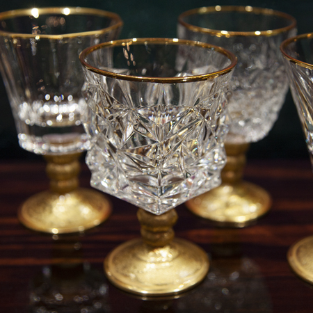Showroom - Accessories - Decanters and Wine Glasses - Goblets