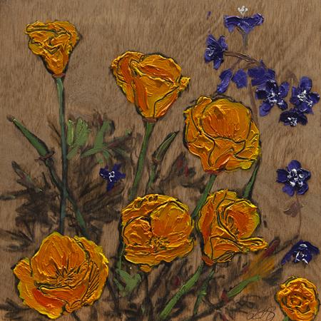 Showroom - Art - Lisa Baldwin - Poppies