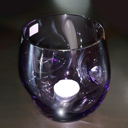 Showroom - Accessories - Candle Holders - Votive Candle Purple