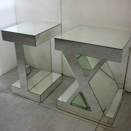 Showroom - Furniture - Side Tables - Seculorum I and X