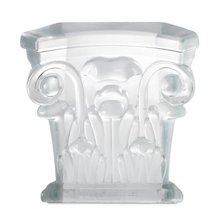 Showroom - Doors & Architectural Elements - Cast Glass - Half Capital Element CG11