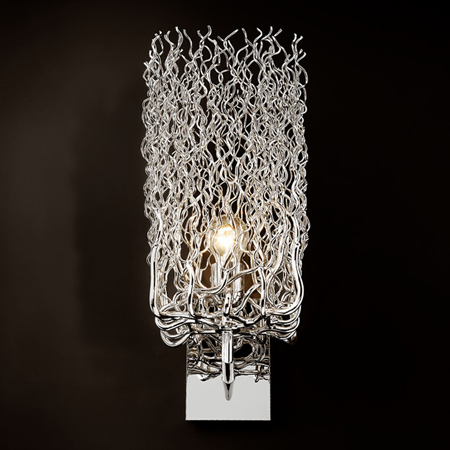 Showroom - Lighting - Sconces - Hollywood wall lamp block