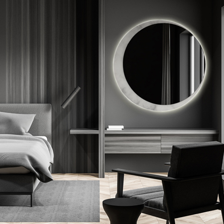 Showroom - Accessories - Mirrors - Eclipse Moon